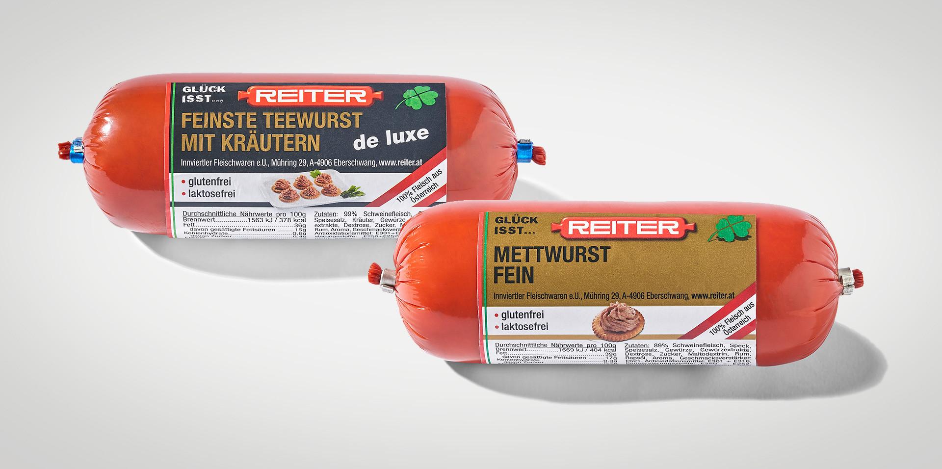 Reiter Tee- und Mettwurst